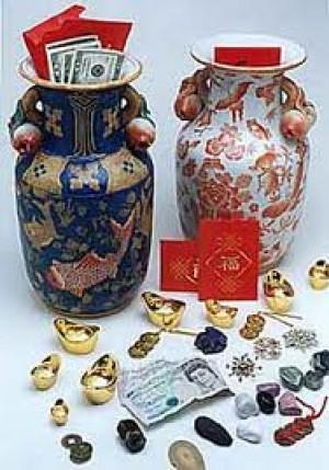 vase de fortune feng shui. Black Bedroom Furniture Sets. Home Design Ideas