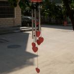 carillon 5 tubes métal