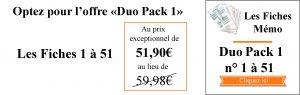 DUO Pack 1 à 51