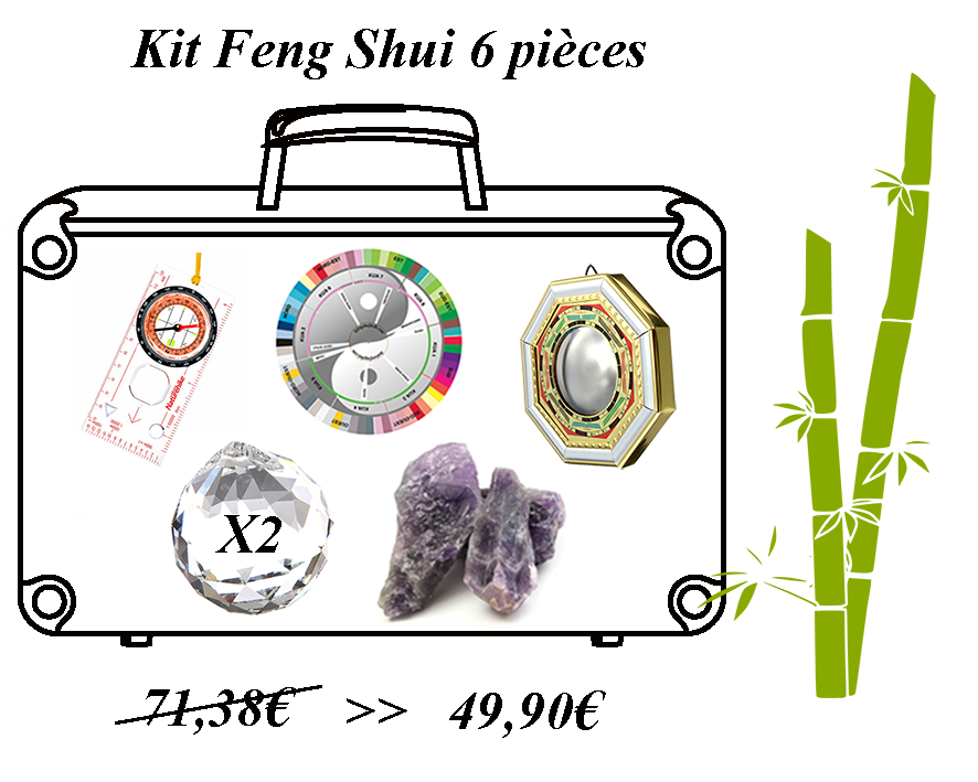 feng shui de l'été - kit feng shui