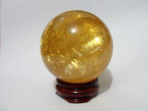Calcite dorée feng shui