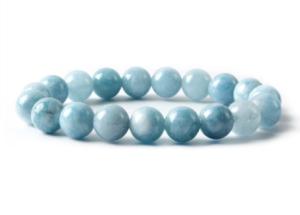 bracelet aigue marine - puissance des pierres