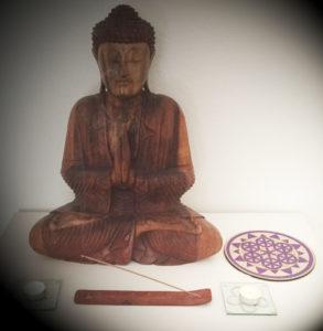 fleur de vie - meditation - bouddha
