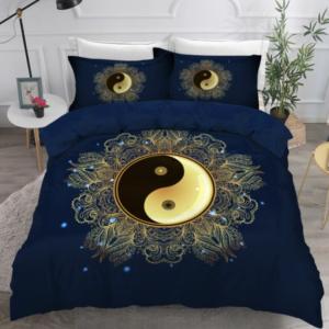 yin yang parure de lit